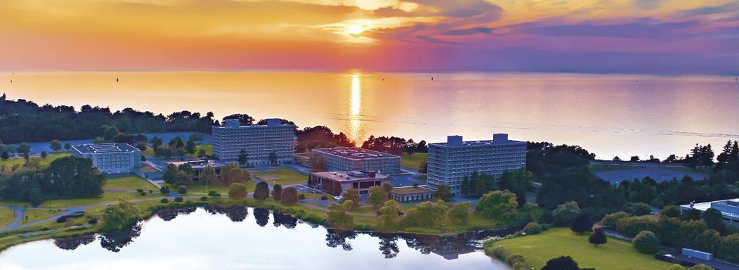 Sunset at SUNY Oswego