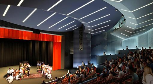 Waterman Theatre after the renovation