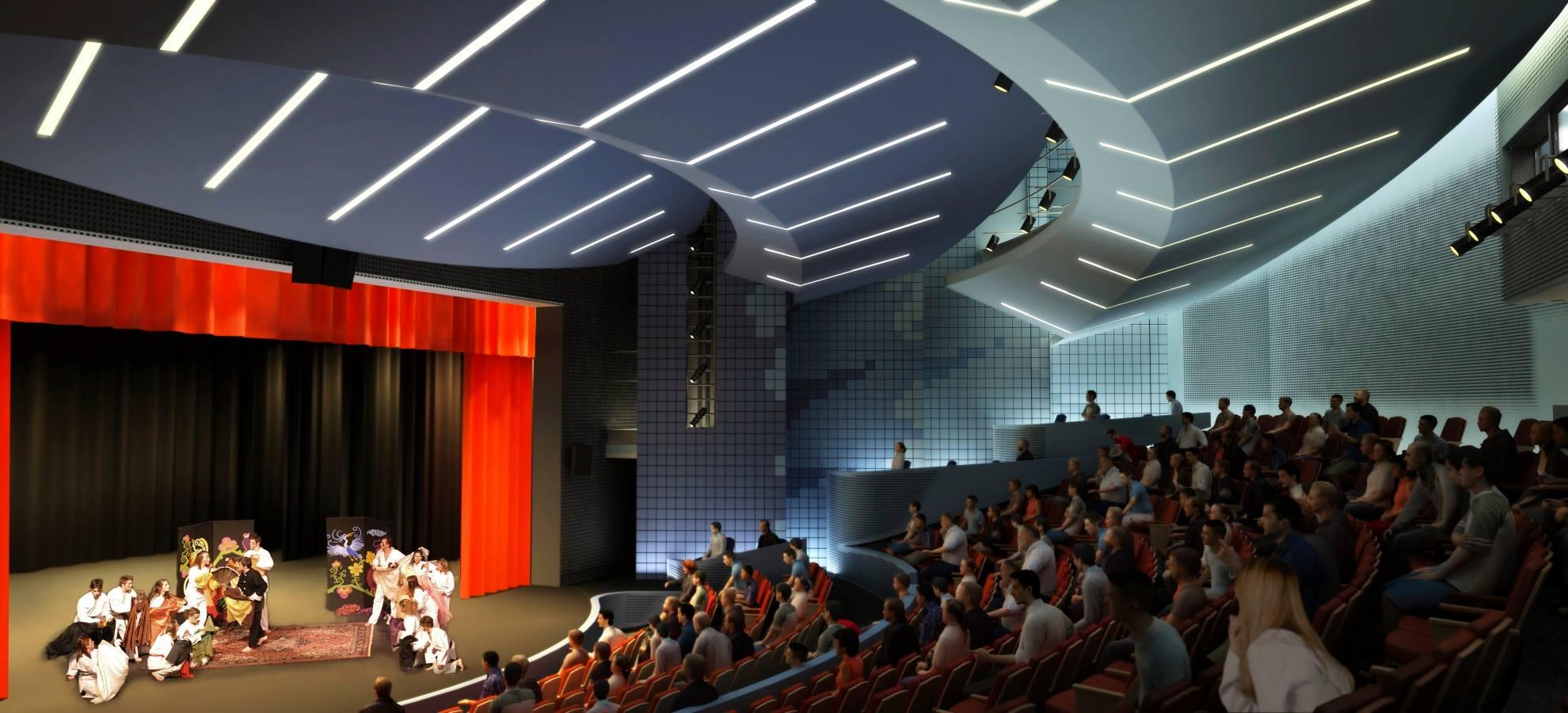 Waterman Theatre Rendering